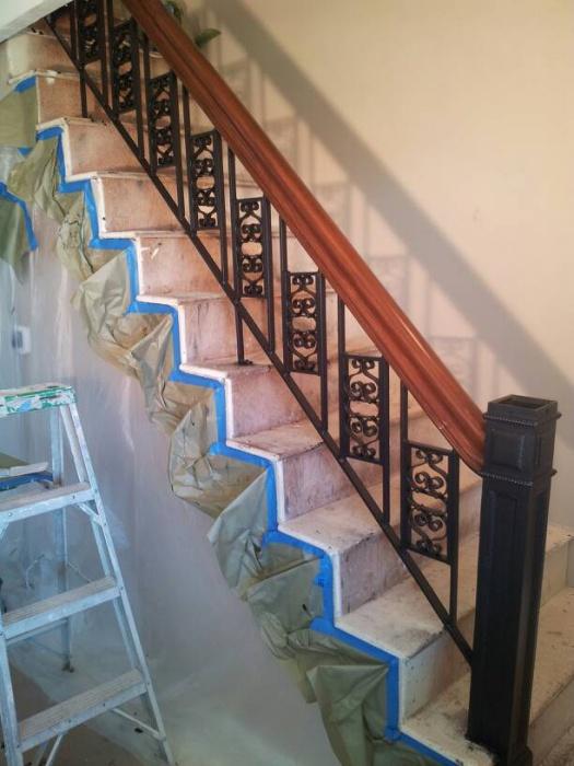 Vintage railing refinish.-1476077019544.jpg