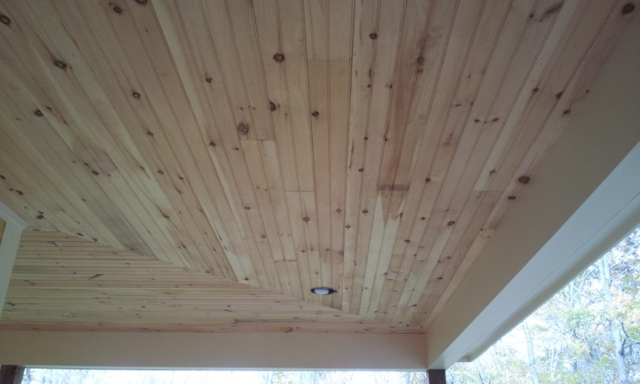 Tongue And Groove Knotty Pine Porch Ceilling Paint Talk