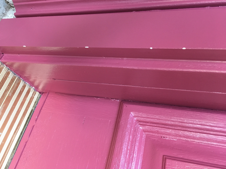 Newly Painted Door Chipping?-2019-09-06-08.46.55.jpg