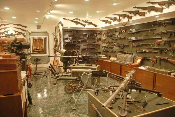 The late great Charlton Hestons basement-44.jpg