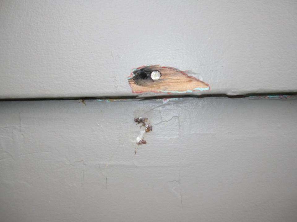 Exterior Spackle Or Elmer S Wood Filler Paint Talk