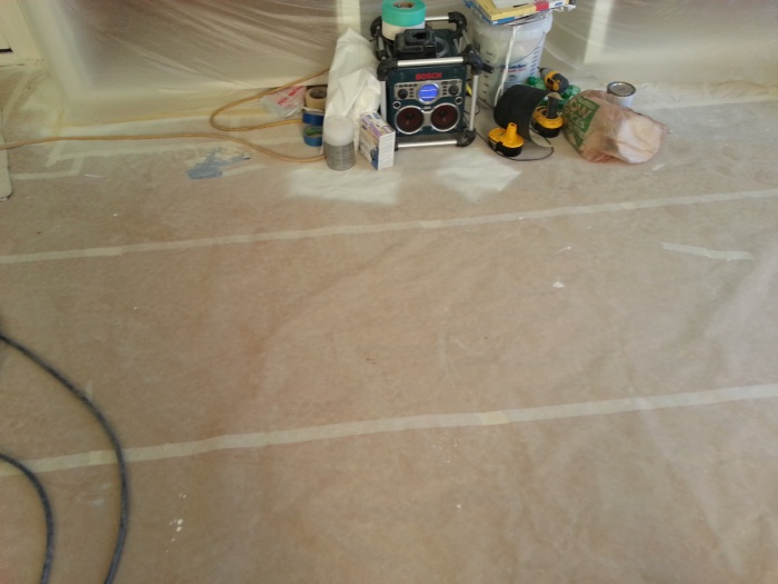 Wood Floor Protection Paint Talk Professional Painting