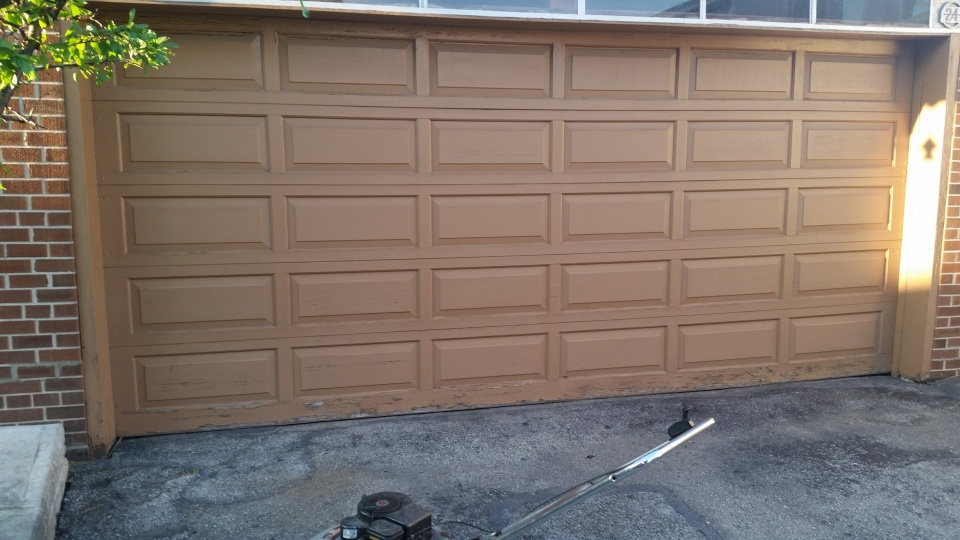 Garage Door Paint Stripping Paint Talk Professional Painting