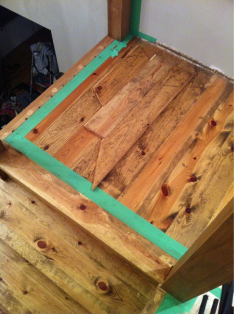 Filling Nail Holes And Staining Paint Talk Professional