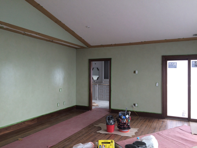 Glazing , Stenciling , Graining, Plaster, in a Cool House-imageuploadedbypainttalk.com1474426468.326862.jpg