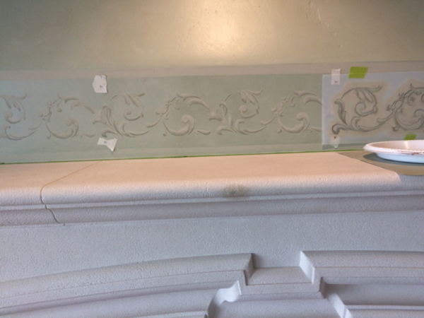 Glazing , Stenciling , Graining, Plaster, in a Cool House-imageuploadedbypainttalk.com1474426695.297698.jpg