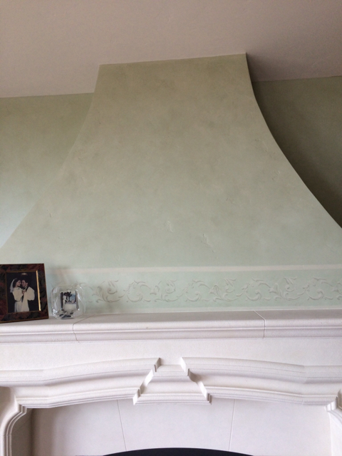 Glazing , Stenciling , Graining, Plaster, in a Cool House-imageuploadedbypainttalk.com1474639842.384798.jpg