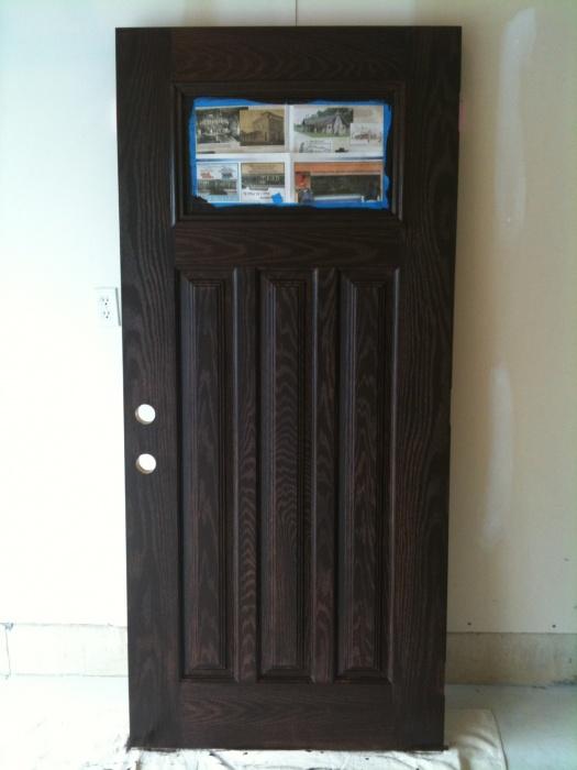 nice paint fiberglass door home design ideas