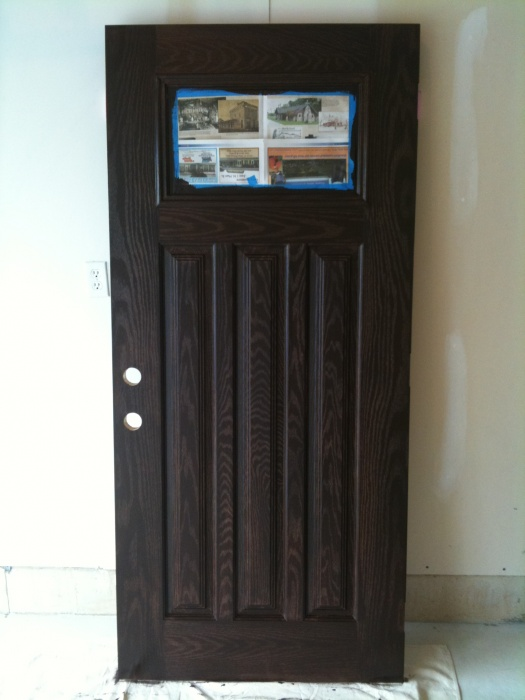 Stained Fiberglass Entry Doors : Staining fiberglass door paint talk professional