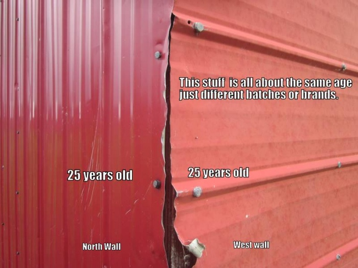Painting Metal Siding What To Use Paint Talk
