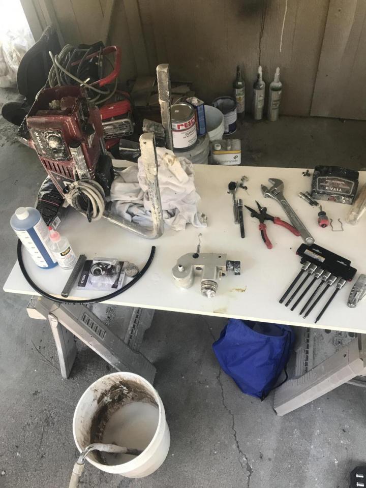 Rebuilt my Titan Impact 440 - Paint Talk - Professional