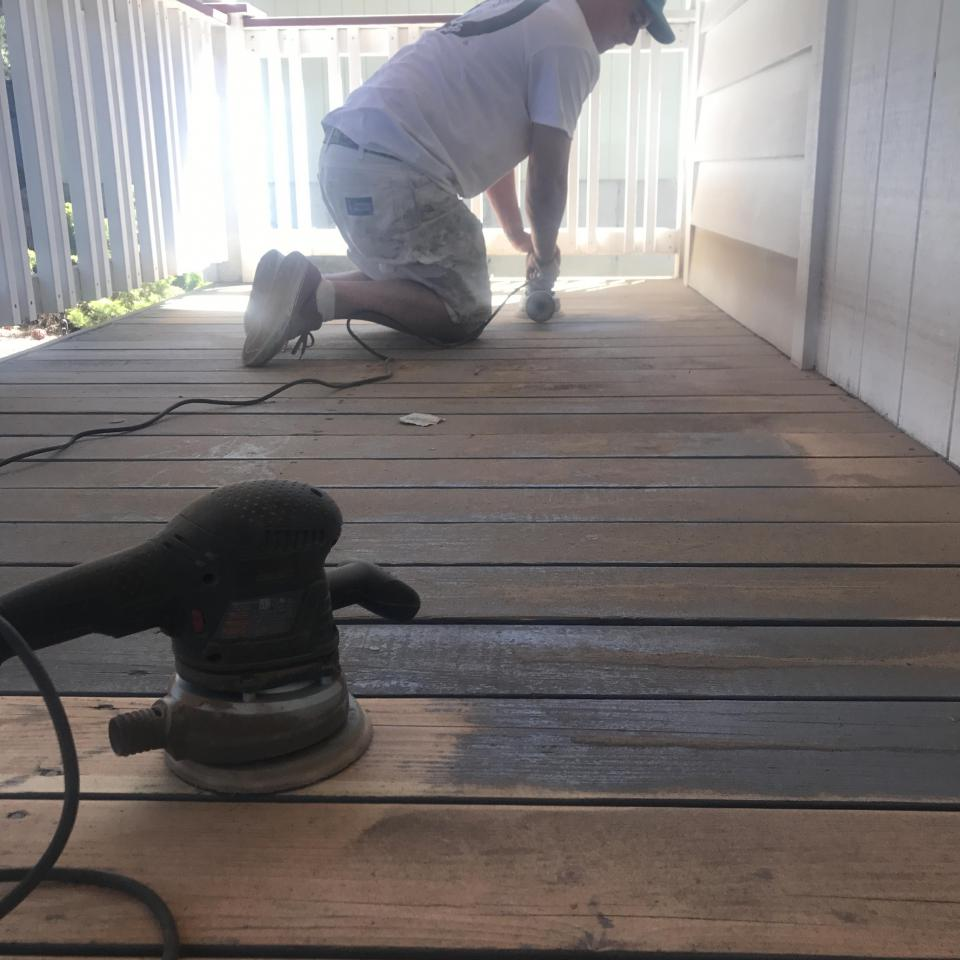 Stripping Paint Off Decks Talk Professional Painting Contractors Forum