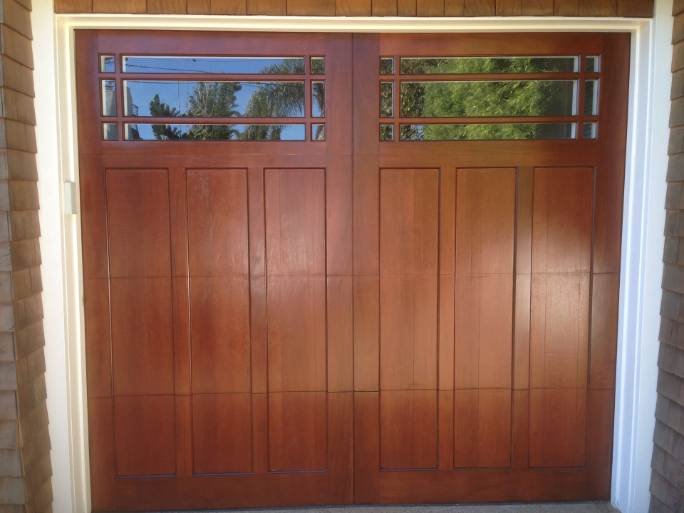 Mahogany garage door refinish using General Finishes-img_2734.jpg & Mahogany garage door refinish using General Finishes - Paint Talk ...