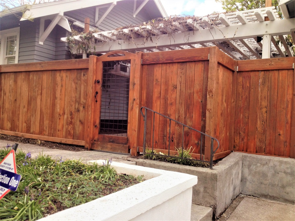 Teak Patio Furniture Cedar Fence Strip Stain Img 3514 Jpg