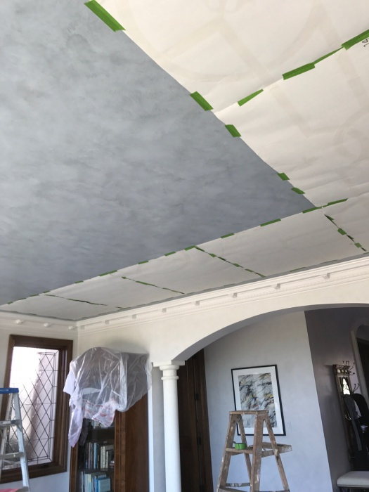 Glazing , Stenciling , Graining, Plaster, in a Cool House-img_4802.jpg