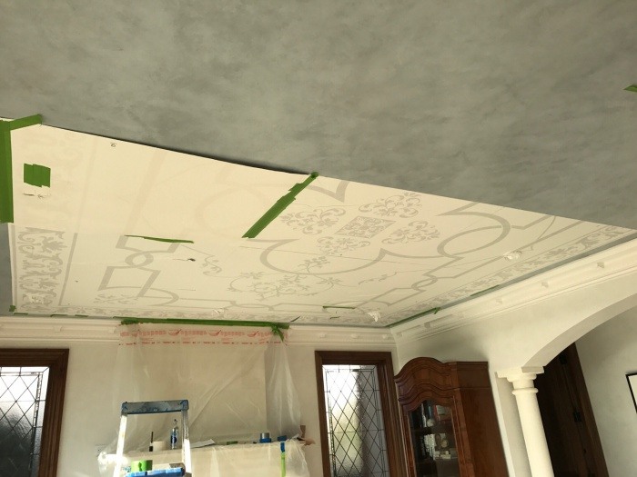 Glazing , Stenciling , Graining, Plaster, in a Cool House-img_4820.jpg