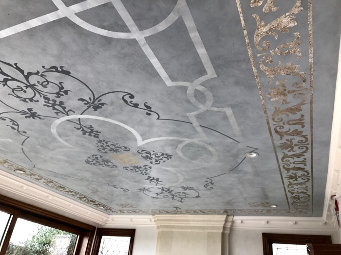 Glazing , Stenciling , Graining, Plaster, in a Cool House-img_4955.jpg