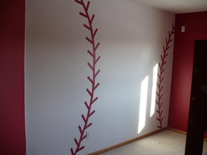 Baseball Accent Wall P1030347
