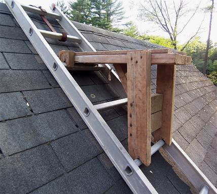 Okay On Steep Pitched Roofs Paint Talk Professional