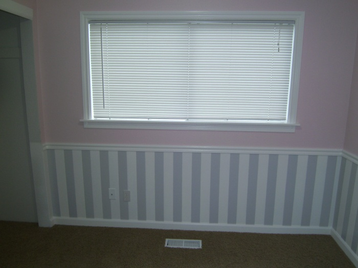 Spraying Wainscoting Paint Talk Professional Painting