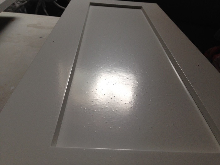 how to fix wavy paint