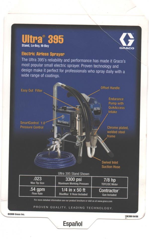 Graco Ultra 395 Stand Sprayer w/extras-sprayer-tgeng.jpg