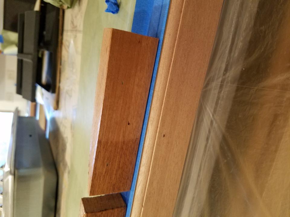Daly's wood bleach, wait time til clear coat  - Paint Talk