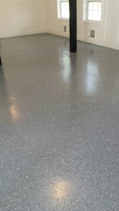 Prep For Epoxy Garage Floor : Concrete floor prep for epoxy paint talk professional