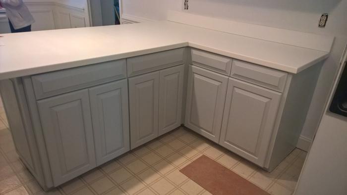 Satin Impervo Acrylic vs Advance for Kitchen Cabinets wp 20150227 15