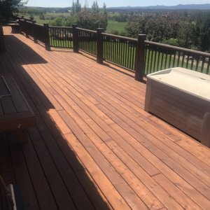1000 sq ft deck