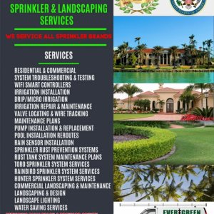 Evergreen Sprinkler and Landscaping Services