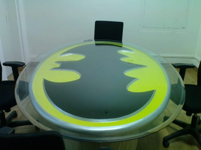 Batman conference table with Duco